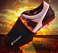 Shoe Covers/Overshoes Bike Waterproof Thermal / Warm Windproof Insulated Rain-Proof Wearable Reflective Trim/Fluorescence Unisex Black