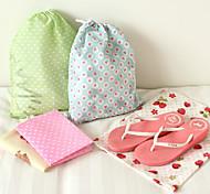 Fabric Travel Luggage Organizer / Packing Organizer Travel Storage