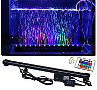 cheap -lm LED Aquarium Lights 50 leds SMD 5050 Waterproof Decorative Remote-Controlled RGB AC 100-240V