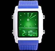 Жен. Нарядные часы электронные часы Цифровой LED PU Группа Черный Белый Синий Коричневый Розовый