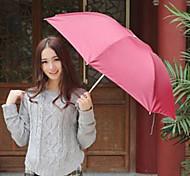 Folding Umbrella Uv Protection Umbrella Of Tourism  Color Random
