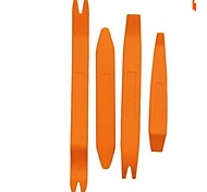 cheap -Iztoss 4Pcs Auto Door Clip Panel Trim Removal Tool Kits for Car Dash Radio Audio Installer Pry Tool