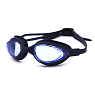 Swimming Goggles Anti-Fog Silica Gel Nylon White Gray Black Blue Purple Pink Gray Blue Dark Blue