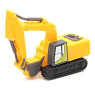 zpk03 16gb excavatrice jaune usb 2.0 lecteur de mémoire flash u bâton
