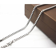 2.0mm*50cm Titanium Steel Necklace Chain Necklaces Daily / Casual 1pc Jewelry Christmas Gifts