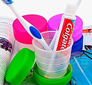 Dobrável para Acessórios de Toalete Plástico