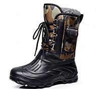 Недорогие -новые мужские напольные водоустойчивые ботинки снега рыболовные обувь охотничья обувь