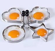 Недорогие -4шт / серия четырех стилей из нержавеющей стали яйца устройство омлета прессформы инструменты