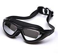 YUKE Gafas de natación Mujeres / Hombres / UnisexAnti vaho / Impermeable / Tamaño Ajustable / Anti-UV / A prueba de dispersión / Para la