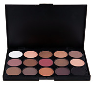 cheap -15pcs Eye / Face Combination / Dry / Normal Shadow Powder Smokey Makeup / Cateye Makeup / Fairy Makeup