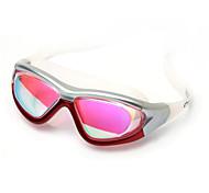 Недорогие -YUKE плавательные очки Жен. / Муж. / УниверсальныеПротиво-туманное покрытие / Водонепроницаемый / Регулируемый размер / УФ-защита /