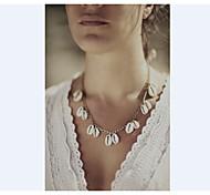 Недорогие -Жен. Ожерелья с подвесками - Серебряный, Золотой Ожерелье Назначение Для вечеринок, Повседневные