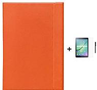 бизнес-крышка оригинала Капа пункт смарт-чехол для Galaxy Tab, Samsung при / вкладка 8.0 9.7 + стилус + пленка