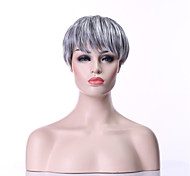 cheap -New Arrival Fashion Grey Wig Short Straight Woman's Synthetic Wigs Hair Wig Full Wig
