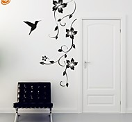 cheap -Romance Fashion Florals Wall Stickers Plane Wall Stickers Decorative Wall Stickers, Vinyl Home Decoration Wall Decal Wall