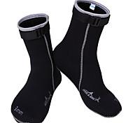 Недорогие -Обувь для плавания Антипробуксовочная 3mm Защитный Тепловая / Теплый Дайвинг Серфинг неопрен
