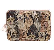 Недорогие -милая собака дизайн холст ноутбук рукав сумка ультрабук чехол для Macbook Air 11.6 / 13.3 12 MacBook MacBook Pro / 13.3
