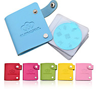 Newest 24 Slots Leather Nail Art Stamping Plate Case/Bag/Folder Nail Stamp Template Holder Album Storage
