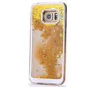 Stars Drifting Sand Design Luxury PC Back Case for Samsung Galaxy S7/S7 Edge
