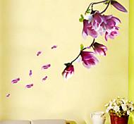 Недорогие -Цветы Пейзаж Наклейки Простые наклейки Декоративные наклейки на стены,Винил Украшение дома Наклейка на стену For Стена