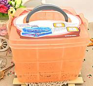 Органайзеры для украшений / Коробки для бижутерии Пластик сОсобенность является С крышкой , Для Бижутерия