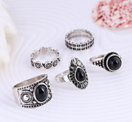 cheap -Women's Alloy Statement Ring - Fashion Silver / Golden Ring For Daily / Casual