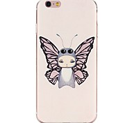 Good Quality Emboss Graphic TPU Back Cover for iPhone 6/6S/iPhone 6 Plus/6S Plus