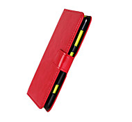 cheap -Case For Nokia Lumia 625 Nokia Nokia Case Card Holder Wallet with Stand Full Body Cases Solid Color Hard PU Leather for