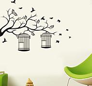 Недорогие -Животные / ботанический / Мультипликация / Музыка / Романтика / Мода / Праздник / Пейзаж / Геометрия / фантазия Наклейки Простые наклейки,
