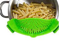 1 Inicio herramienta de la cocina Coladores y escurridores Silicona Inicio herramienta de la cocina