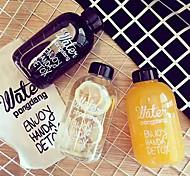 Недорогие -Бутылки для воды 1 Пластик, - Высокое качество
