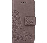 Per iPhone X iPhone 8 Custodia iPhone 5 Custodie cover A portafoglio Porta-carte di credito Con supporto Con chiusura magnetica
