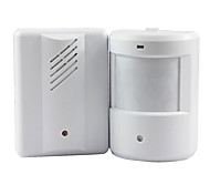 Door Bell Alarm Chime Doorbell Wireless Infrared Monitor Sensor Sensitive Detector Welcome Entry Music Bell