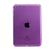 Para Transparente Funda Cubierta Trasera Funda Un Color Suave TPU para Apple iPad Mini 4 / Mini iPad 3/2/1