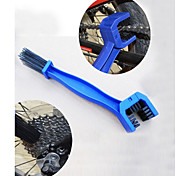 cheap -Chain Cleaner Brush Portable Cycling / Bike / Fixed Gear Bike / BMX Plastic Red / Blue - 1pcs