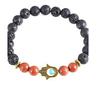 New Arrival Nature Stone Evil Eye Hand Strand Bracelets Daily / Casual 1pc Hot Sale Christmas Gifts