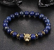cheap -New Arrival Nature Stone Leopard Bracelet Strand Bracelets Daily / Casual 1pc Gifts