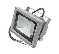 1pc 10W LED Floodlight LED 1000LM lm Warm White Cold White Waterproof Decorative AC85-265V