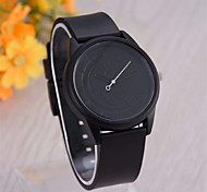 Kids' Fashion Watch Quartz Casual Watch Silicone Band Black White Grey