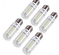 4W E14 E26/E27 LED лампы типа Корн T 69 светодиоды SMD 5730 Декоративная Тёплый белый Холодный белый 280lm 3000/6000K AC 220-240 AC