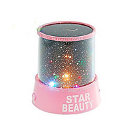 cheap -Starry Night Sky Projector Colorful LED Night Light (Random Color,Powered by 3 AA Battery)