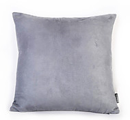 1 Pc Pure Colour Suede Soft Cushion Home Decoration Daily Use