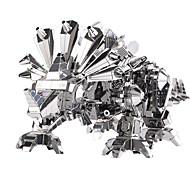 Недорогие -3D пазлы Пазлы Металлические пазлы Наборы для моделирования Динозавр 3D Своими руками Нержавеющая сталь Металлический сплав Металл