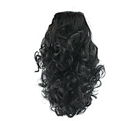 cheap -Clip In Ponytails Elastic Bear Claw/Jaw Clip Synthetic Hair Hair Piece Hair Extension Curly