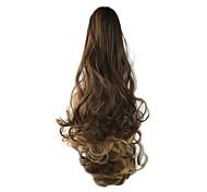 Недорогие -На клипсе Конские хвостики Медведь-коготь / челюсть Искусственные волосы Волосы Наращивание волос Волнистый