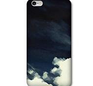 Для Кейс для iPhone 6 / Кейс для iPhone 6 Plus С узором Кейс для Задняя крышка Кейс для Черный и белый Твердый PCiPhone 6s Plus/6 Plus /