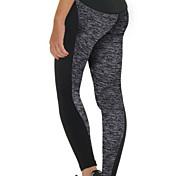 Per donna Collant da corsa Leggings da palestra Traspirante Morbido Compressione Liscio Pantaloni per Esercizi di fitness Corsa S M L XL