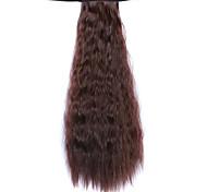 Недорогие -парик темно-бордовый 50см воды синтетическая высокая температура проволоки горячей кукурузы хвоща цвет 33