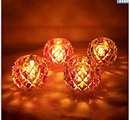 Stained Glass Candlestick Creative Candlelight Dinner The Wedding Place Random Color