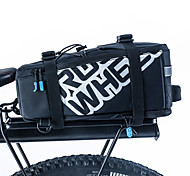 Bike Bag 5LPanniers & Rack Trunk Shoulder Bag Bike Trunk Bags Waterproof Shockproof Wearable Bicycle Bag PU Leather 400D Nylon Cycle Bag